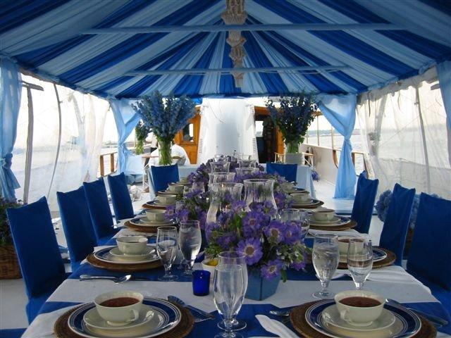 under-blue-tent